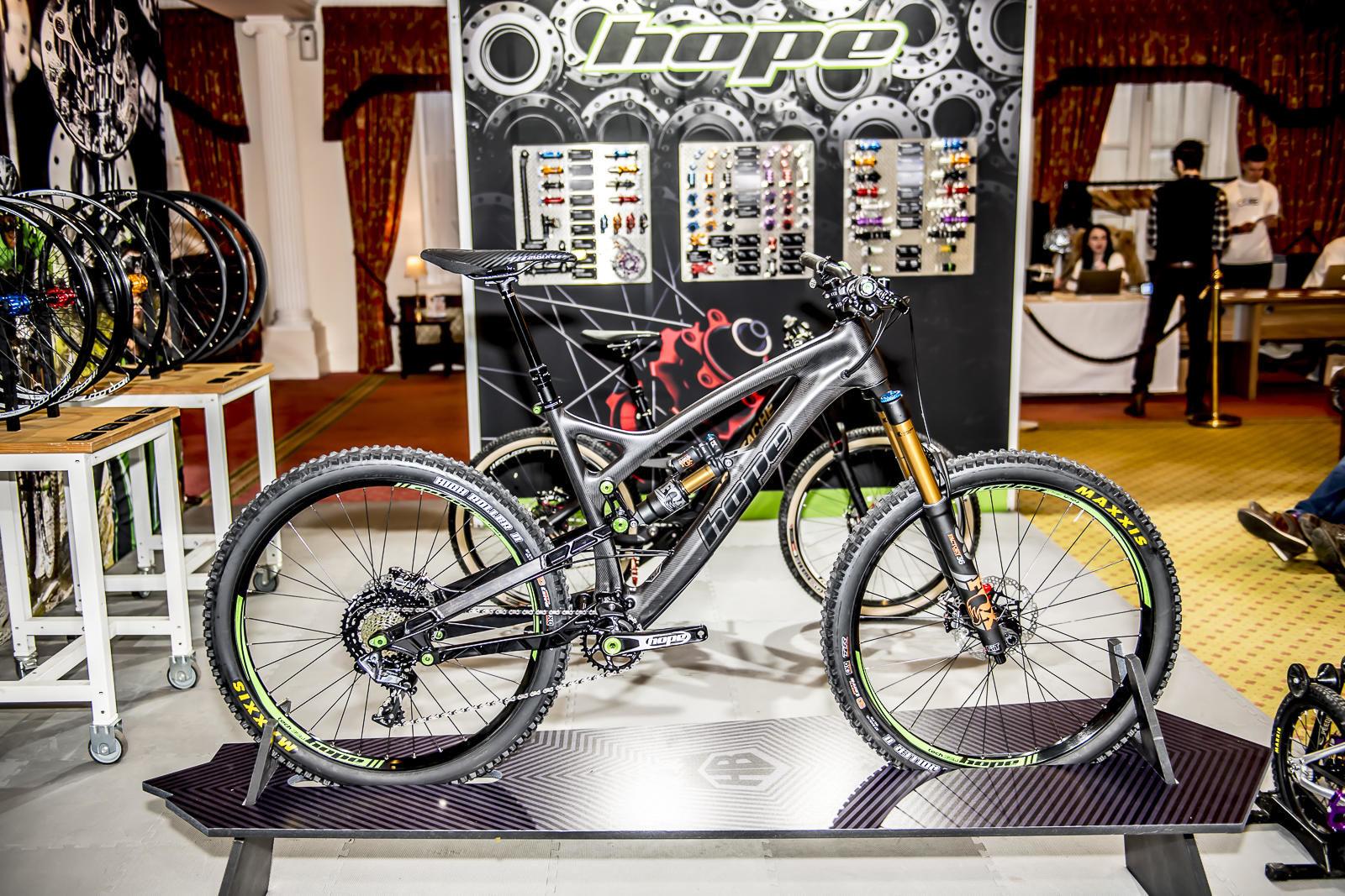Hope HB.160 Bike, taken at Core 2018
