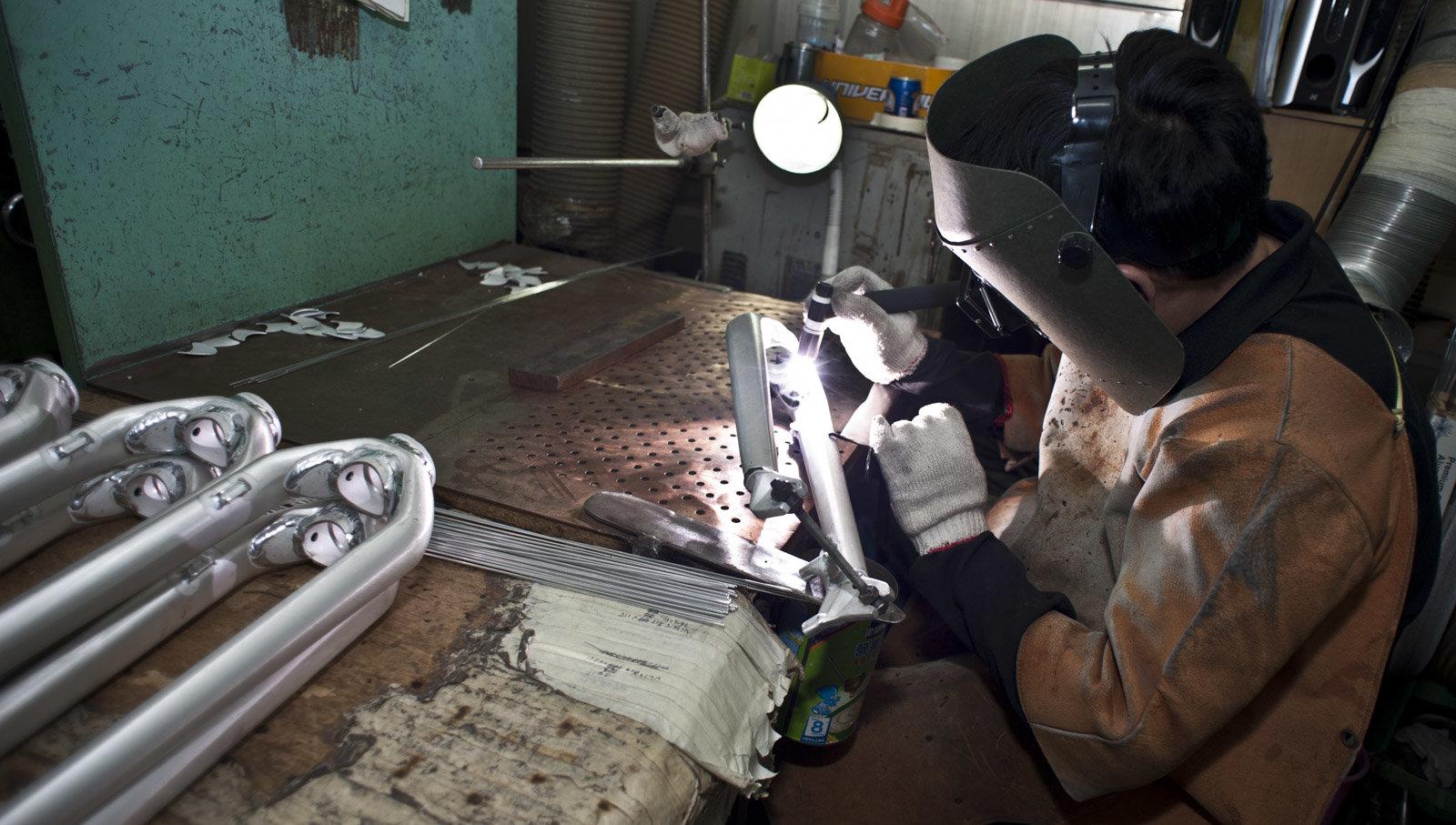 Kinesis fork welding-1