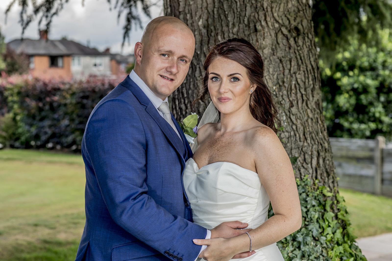 Kyle and Sarah formal closeup