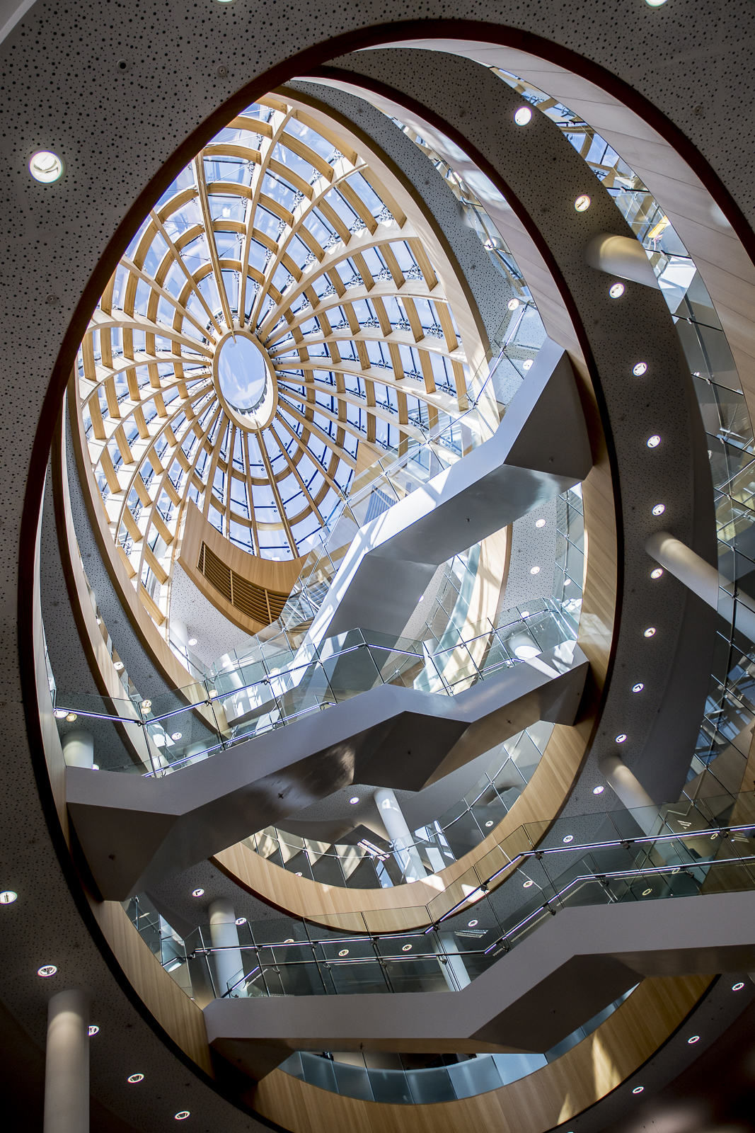 Look up - Liverpool Central Library