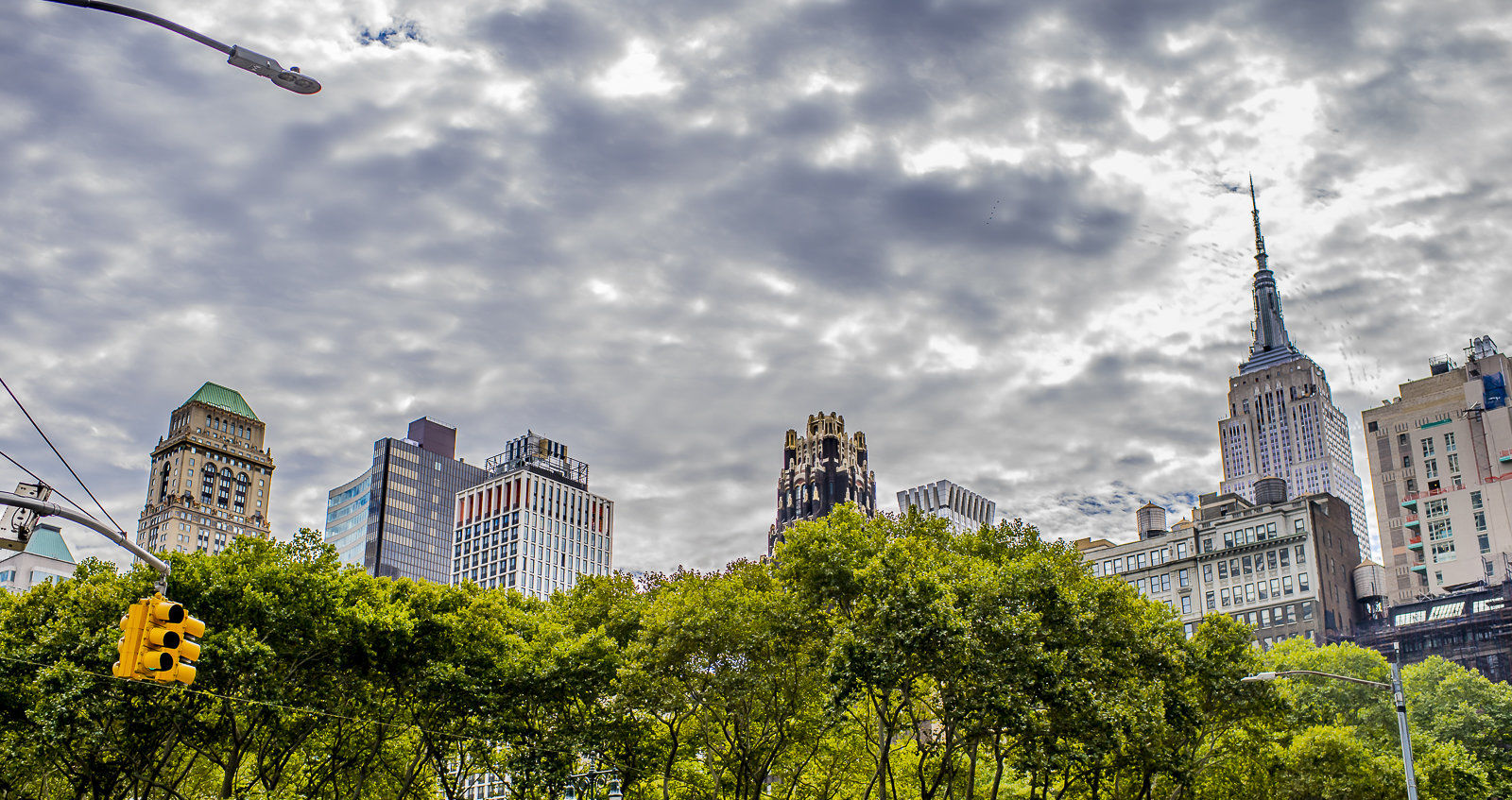 Manhattan Skyline, from Central Park, NYC