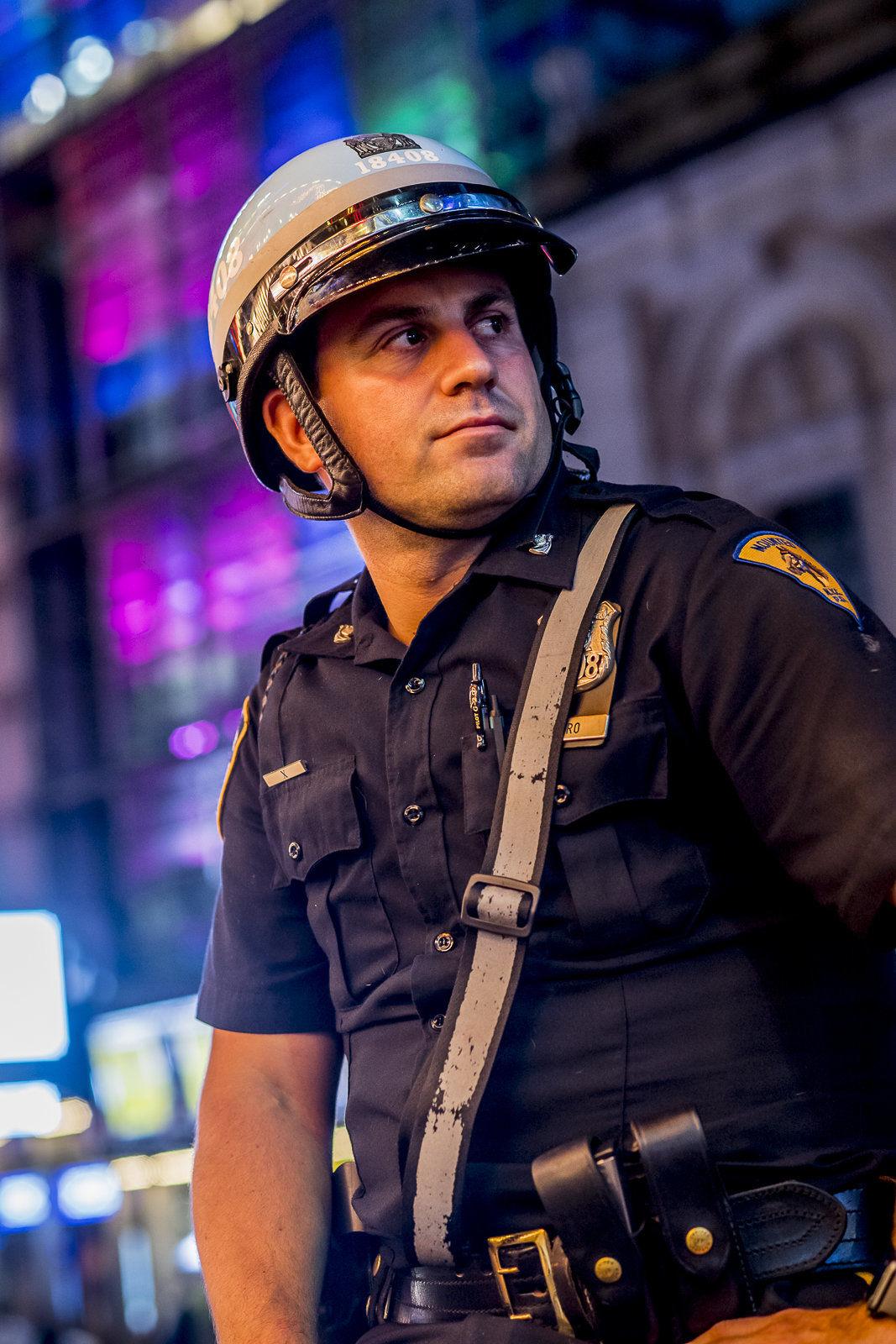 Mounted NYC Police