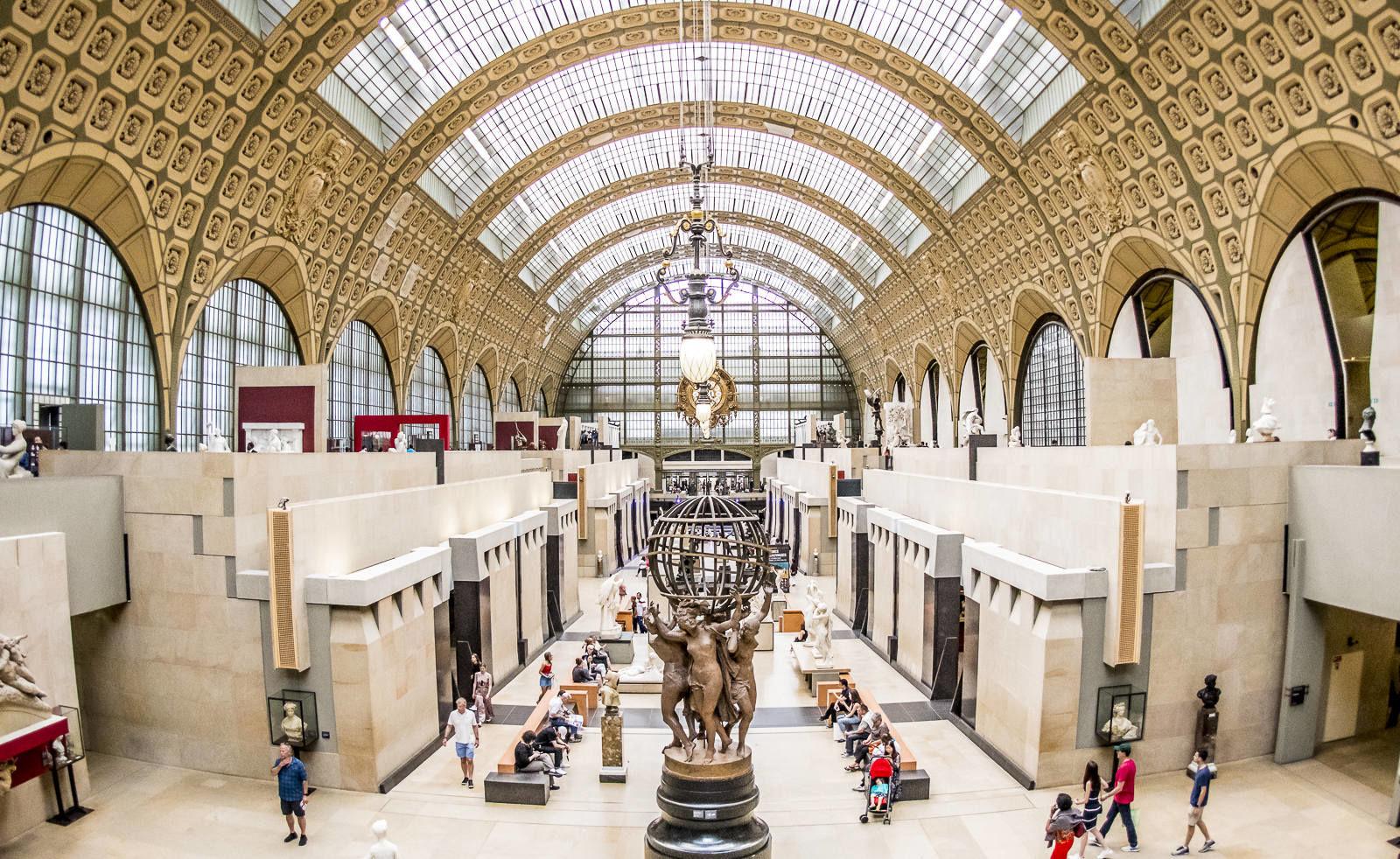 Musee d'Orsay Panorama - Paris