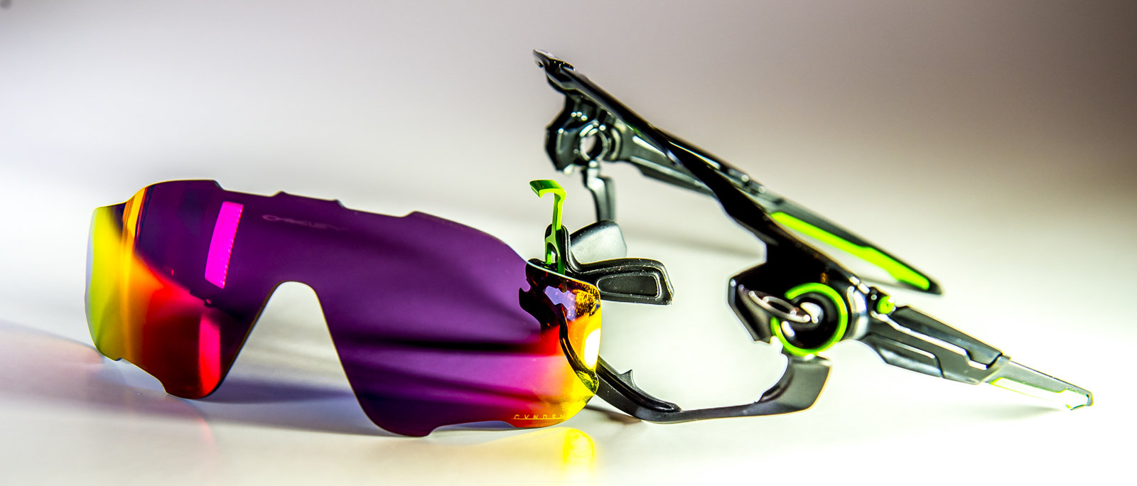 Oakley Prototype Jawbreaker open