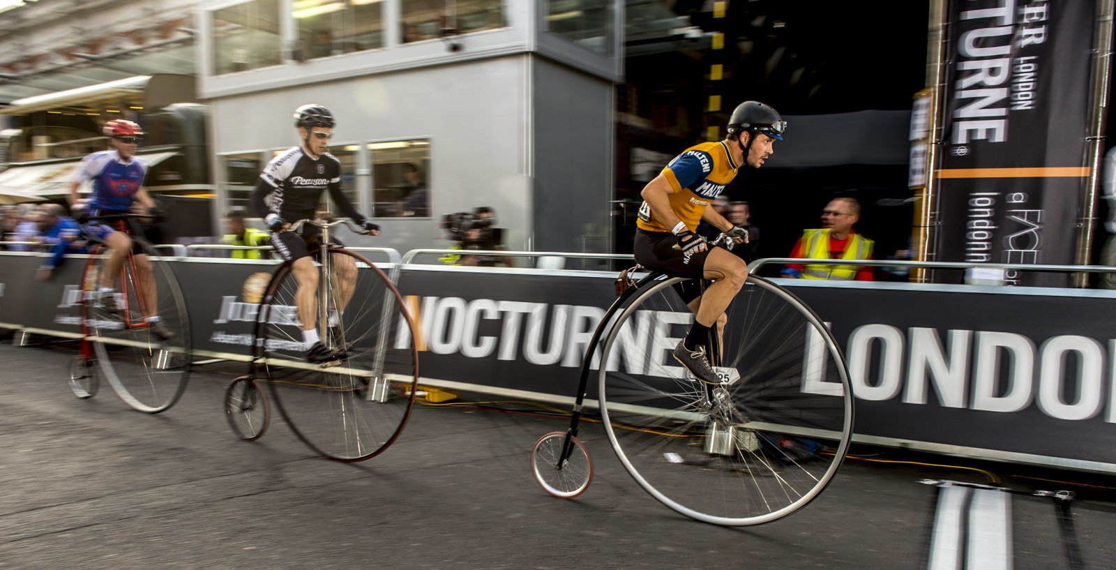 Penny Farthing racing
