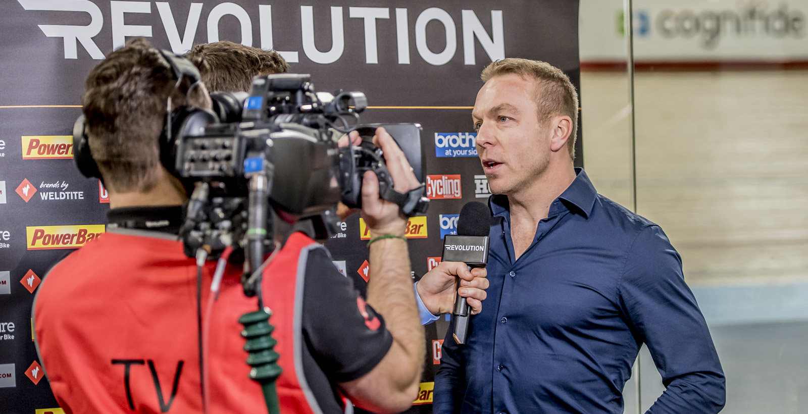 Sir Chris Hoy interviewed