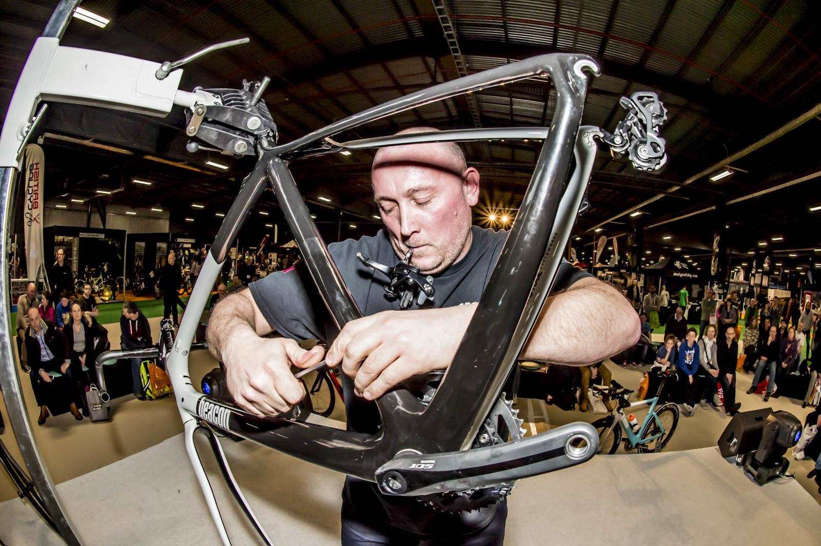 Spike builds a bike