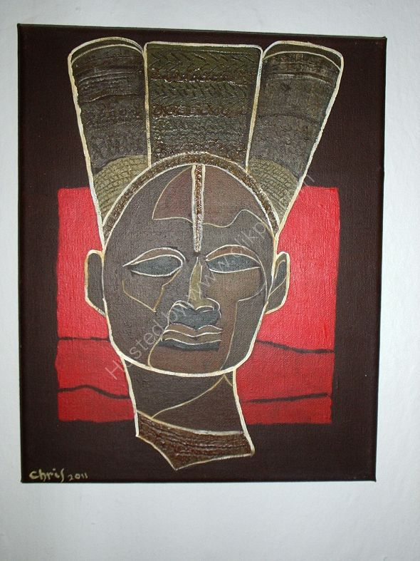 cabeza africana