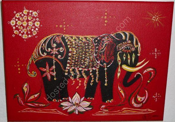 elefante del día festivo