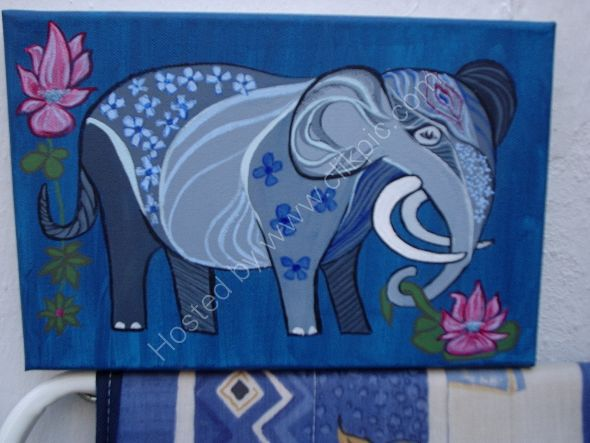 elefante para Nanci