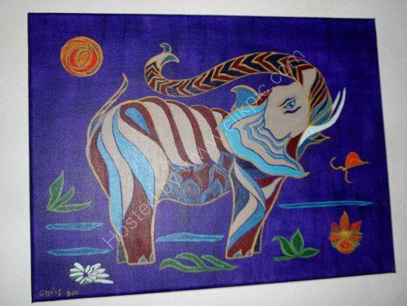 nocturno del elefante