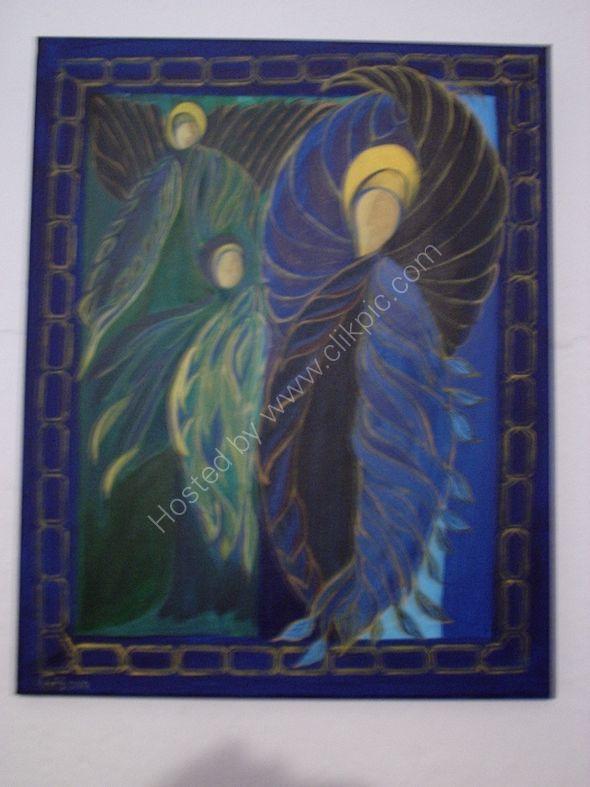 sombras de angeles