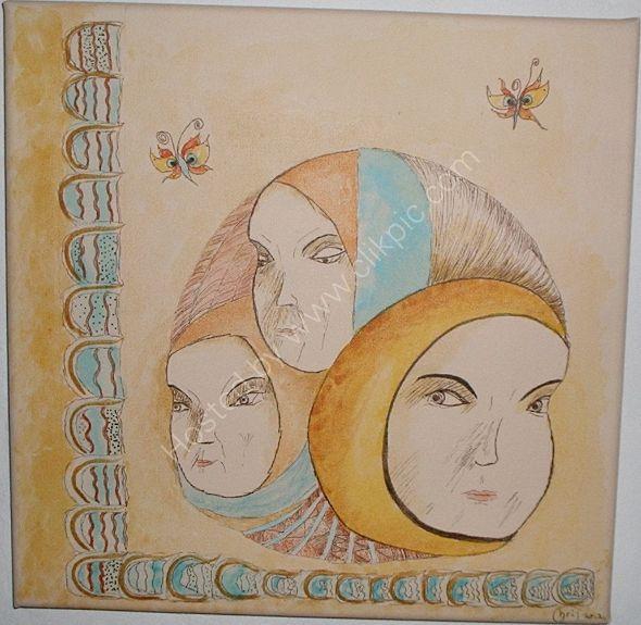 tres caras de la diosa