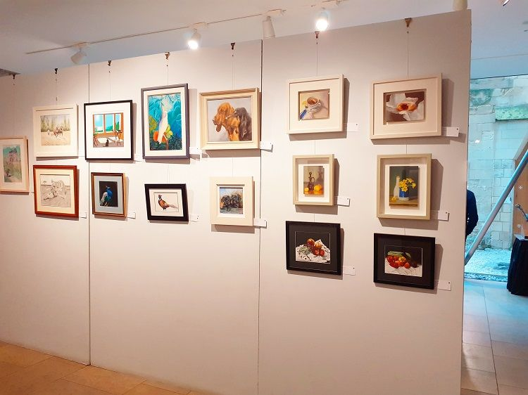 200th exhibition, Hostry, Norwich Cathedral 2019