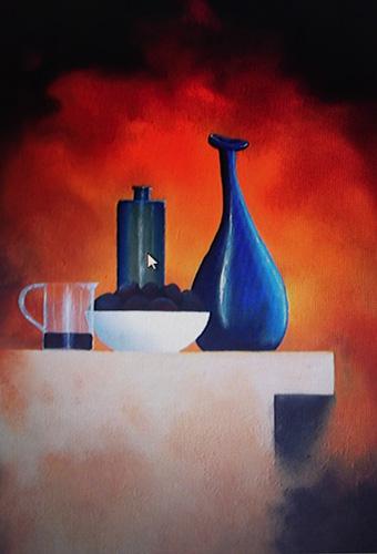 Twysted Vase-Acrylic