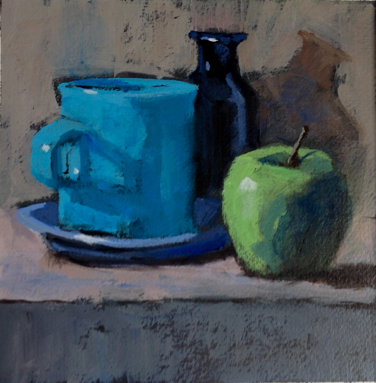 Blues and Apple