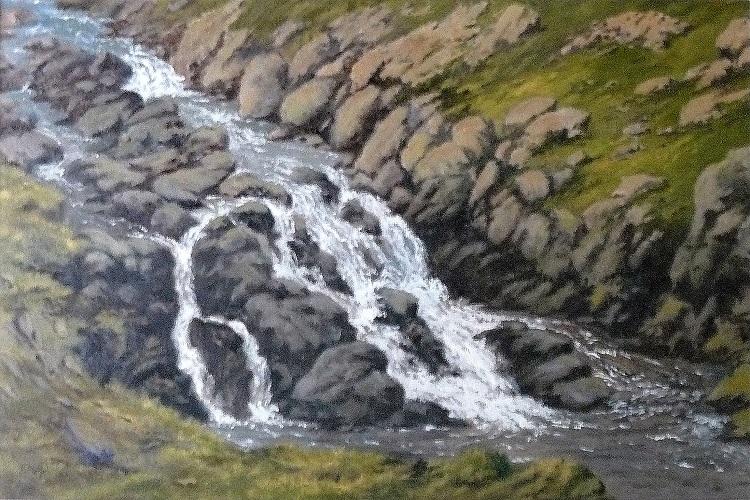 Easedale Falls