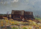 Ferry at Walberswick-Oil