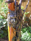 Aegis-Sculpture Mixed Media Driftwood