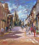 Lazy Sunday upper St Giles-Pastel
