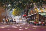 Norwich Market-Pastel