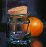 Thro a Glass darkley-Oil