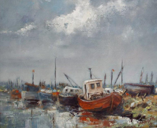 Oulton Broard Boat Yard-Oil