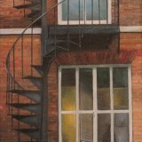 Spiral Staircase ll, Janet Harrison