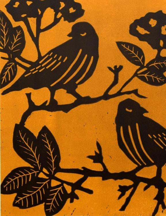 caroline ann clarke feathered friends