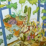 Jim's Greenhouse, Caryl Challis