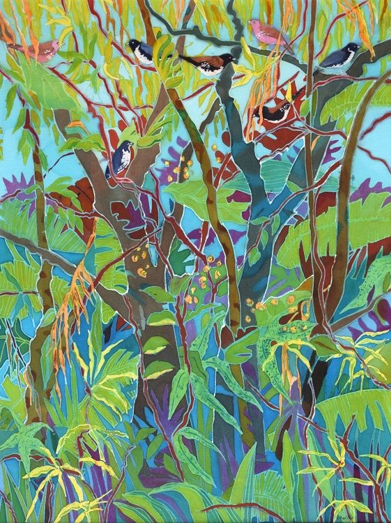 Jungle Garden, Caryl Challis