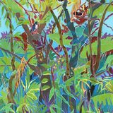 Jungle Garden, Caryl Challis