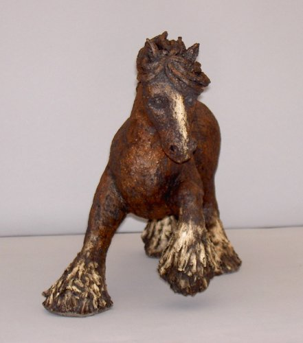 Shire Horse-Sculpture