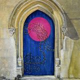 What thoughts lie behind the blue door, Clive Brookes
