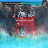 A Cornish harbour, David J Howe