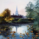 david talks norwich cathedral autumn