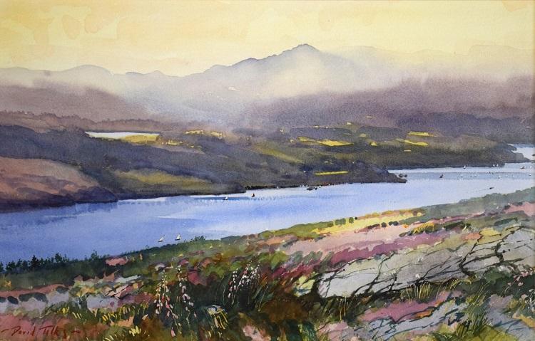 david talks overlooking lake windermere