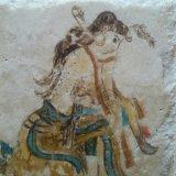 Female Initiate, on stone