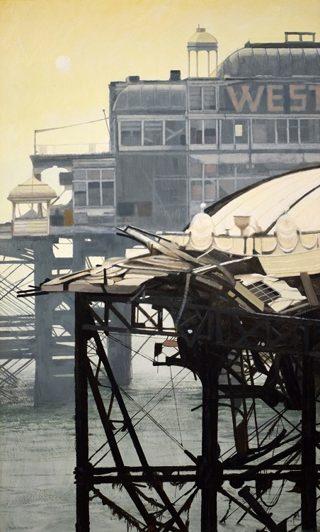 gill levin wrecked west pier XIII