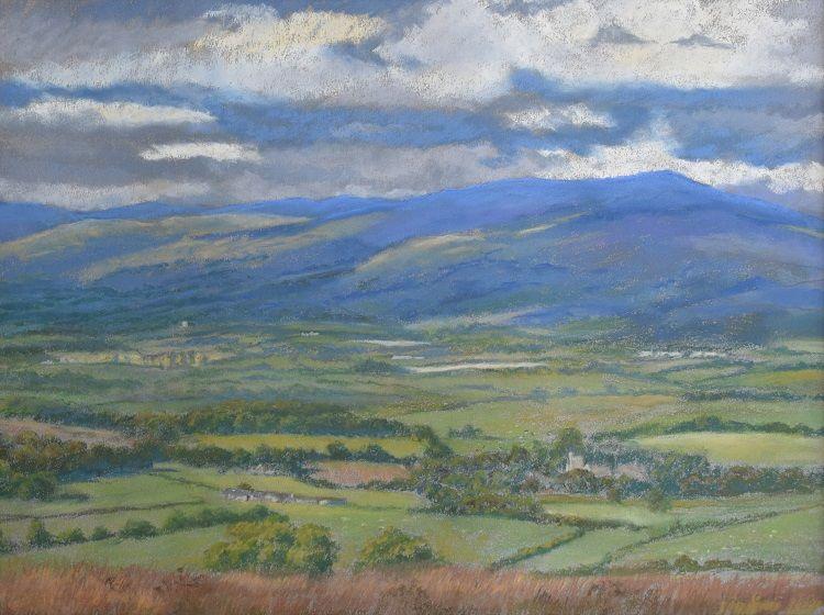 Towards Pen y Ghent, Yorkshire, Janice Gordon