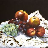 Fruit on Cloth, Janice Lacey