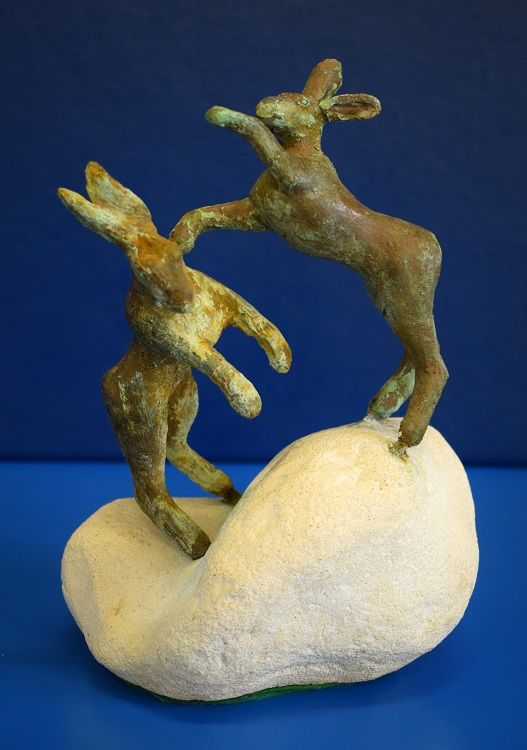 Boxing Hares, Ken Riches