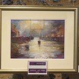 Looe Harbour by John Patchett wins the Jarrold prize
