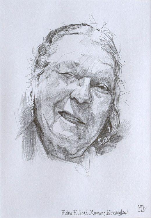 Edna Elliott, Romany Kessingland, Malcolm Cudmore