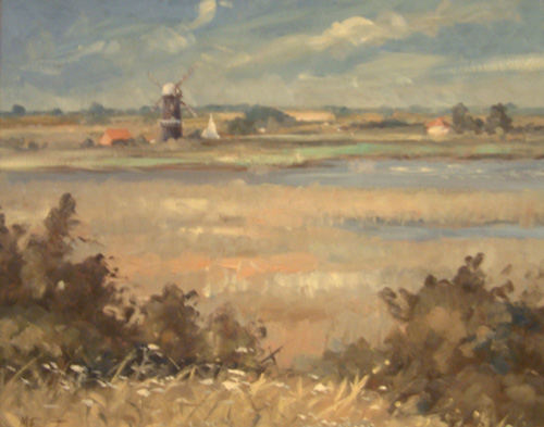 Miles Fairhurst-View from Burgh Castle