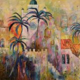 Moroccan Town, Denise Wingrove