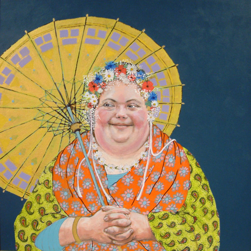 Penny Loudon-Portrait of Martha