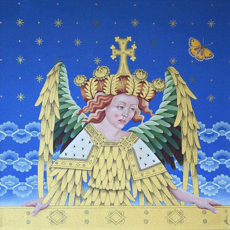 Ranworth Angel and gatekeeper