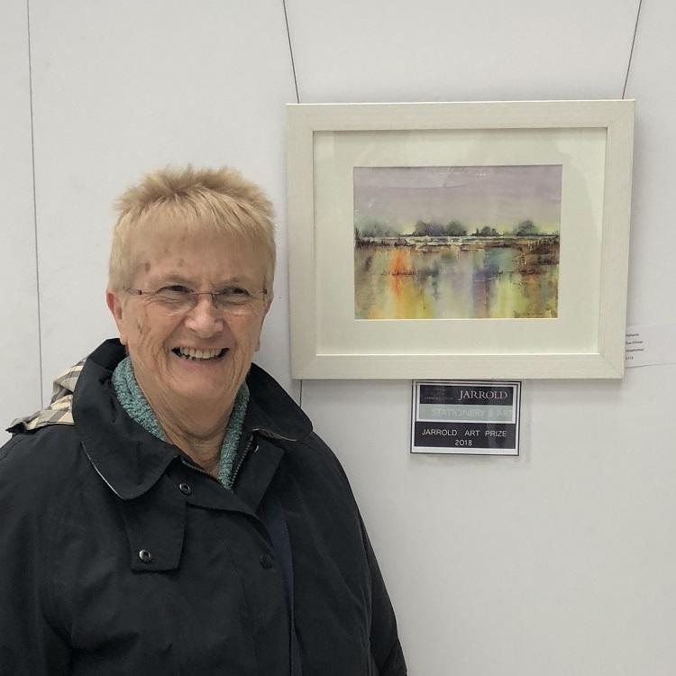 Sue Willmer wins the Jarrold Prize, Forum Exhibition 2018