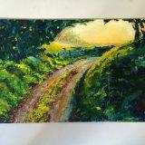 landscape workshop - acrylics